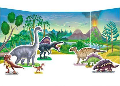 dinosaurs diorama