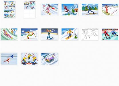 Winter Sports Flashcards