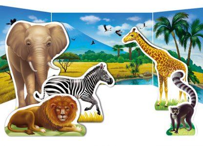 African Habitat Diorama