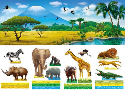 African Diorama