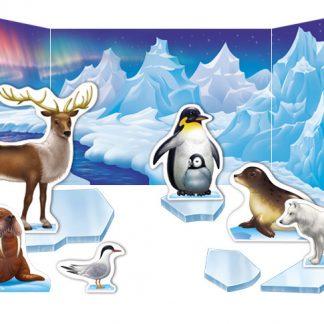 The Polar Animal Habitat Diorama