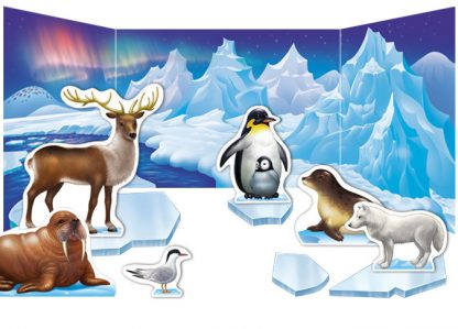 The Polar Animal Habitat Diorama