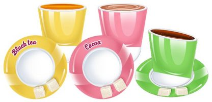 Cafe Role Playing - cups printable