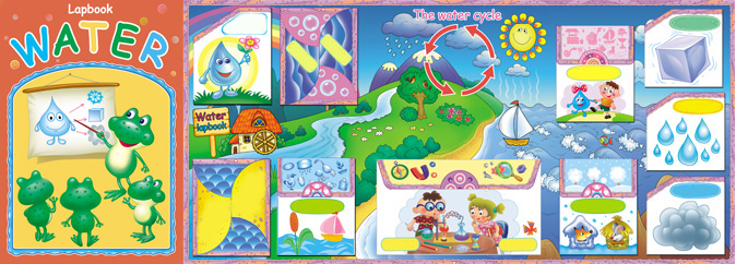 Water Cycle. Interactive Science Lapbook