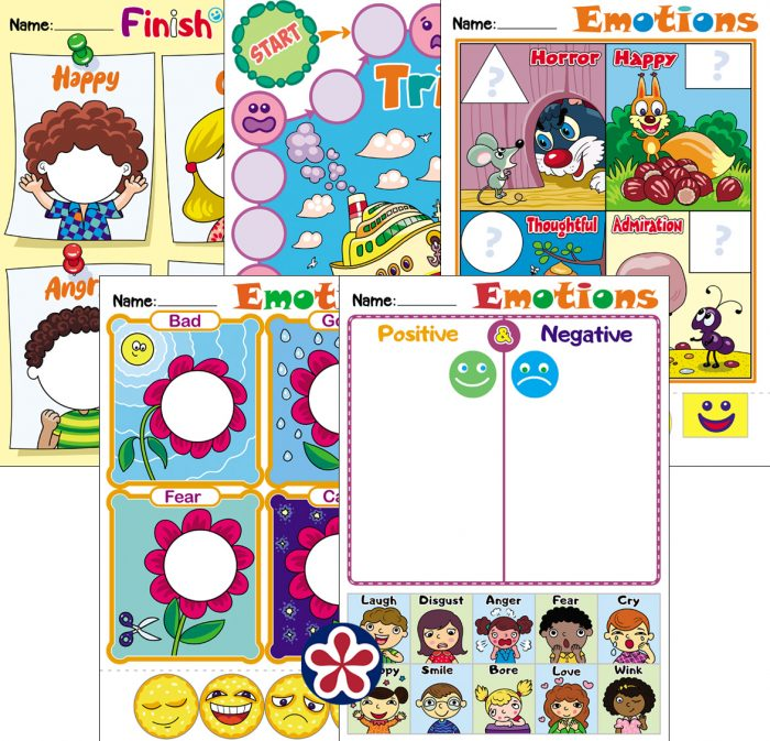 Feelings And Emotions Worksheets – BuyLapbook