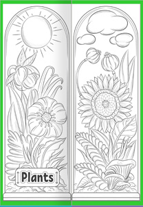 Plant lapbook. Cover