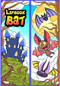 Bats Lapbook cover
