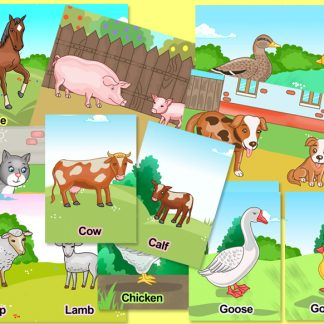 farm animals preschool activity