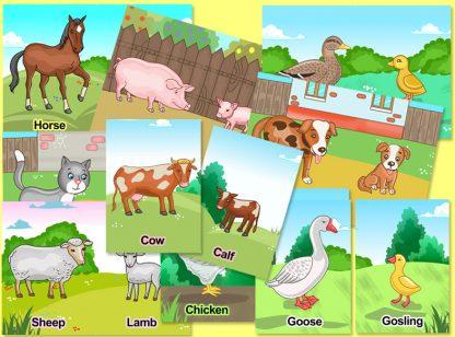 farm animals preschool activity