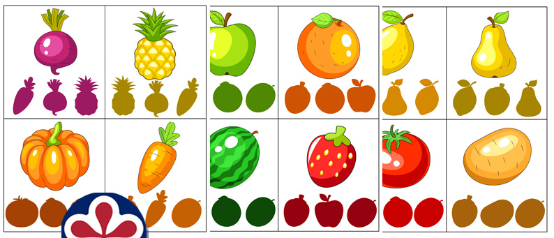 Fruits And Vegetables Printable Activity Pack BuyLapbook
